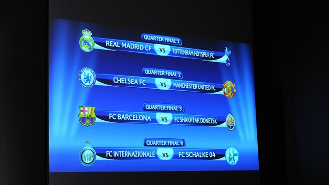 Cuartos de Final Champions 2011