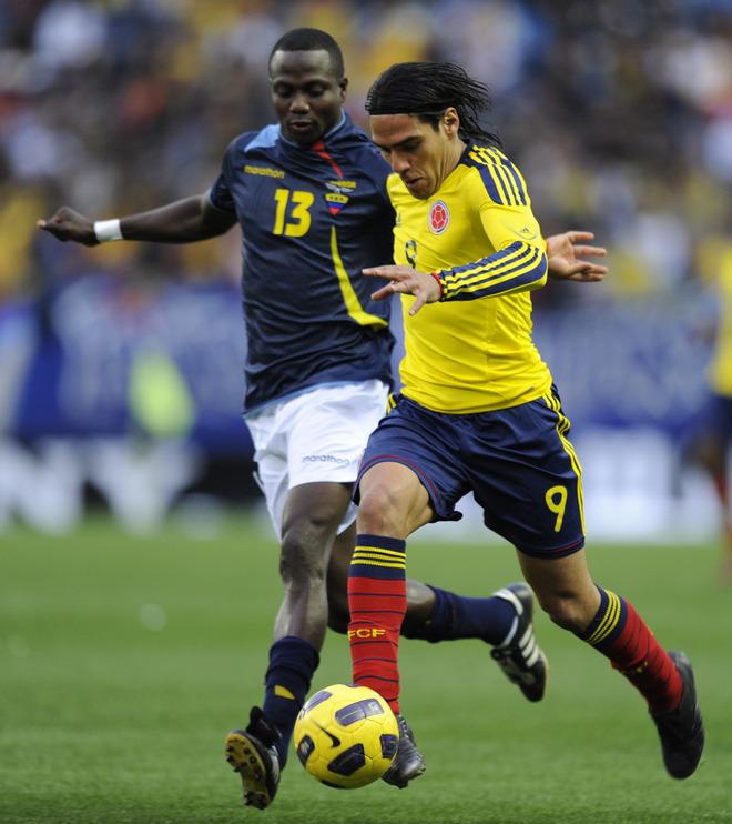 Radamel Falcao García anotó un gol para Colombia