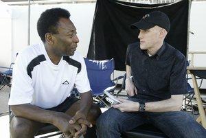 Grant Wahl y Pelé