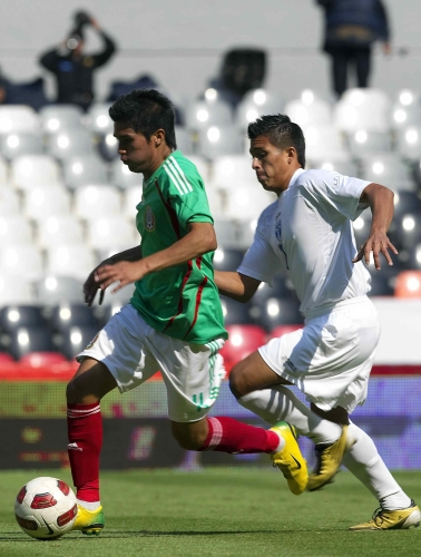 U:20 Honduras contra México 2011
