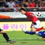 Solvente triunfo de Corea sobre Honduras