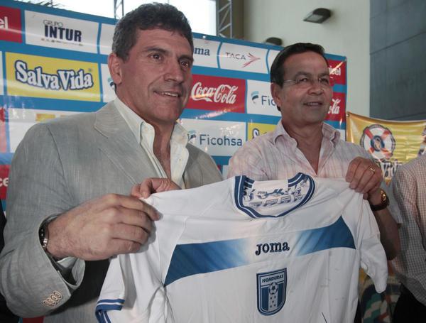 Luis F Suarez camisa Honduras