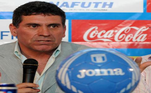 Luis Fernando Suárez nuevo entrenador de Honduras