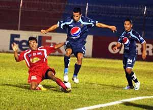 Vida Motagua empataron sin goles