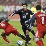 DC United ganó sin Najar, Sporting sufrió segunda derrota