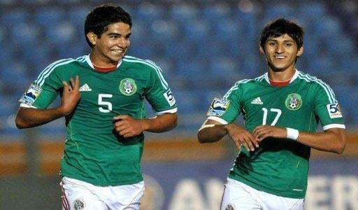 Diego de Buen y Alan Pulido Mexico Sub 20