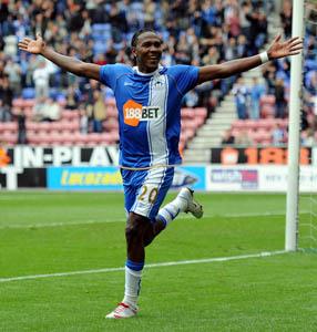 Hugo Rodallega Wigan Athletic