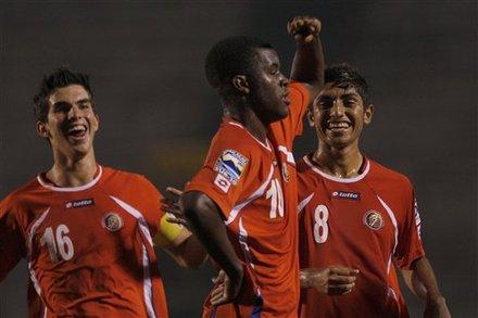 Joel Campbell U20 de Costa Rica 2011