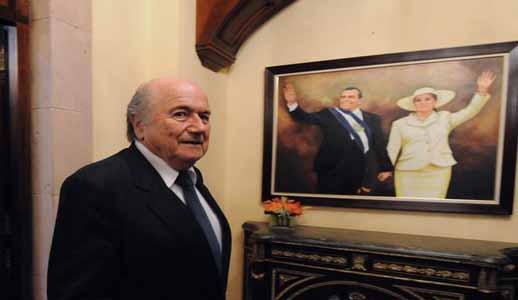 Joseph Blatter Casa de Gobierno