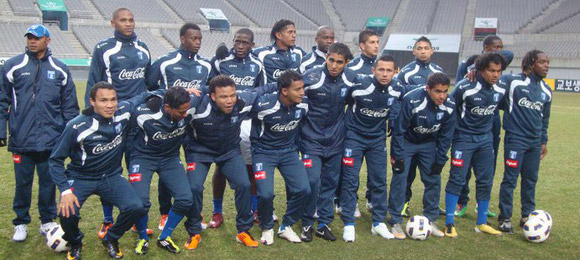 Selección Honduras en Corea 2011