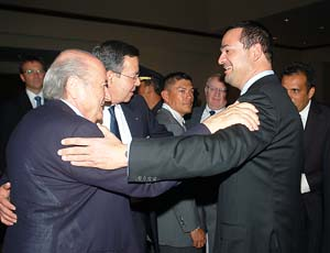 Yankel Rosenthal Joseph Blatter