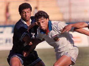 Carlos Laje contra Edgar Sierra del Motagua