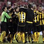 Peñarol eliminó al campeón, avanzan Once Caldas y Universidad Católica en la Copa Libertadores