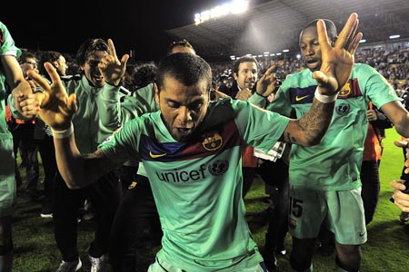 Dani Alves Barcelona 2011