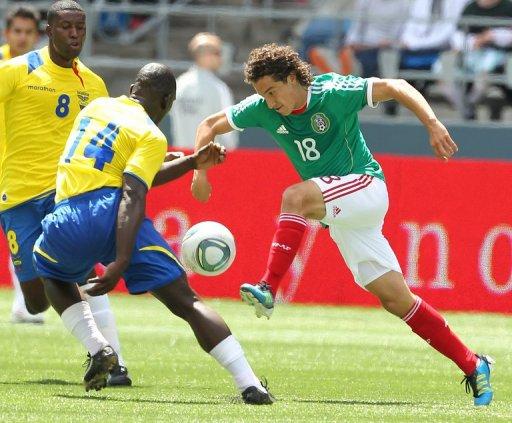 Ecuador Mexico en Seattle 2011