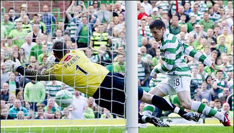 Gol Gary Hooper Celtic