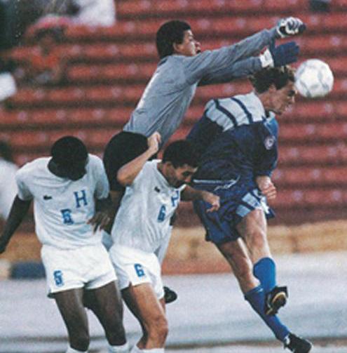 Honduras EUA Copa Oro 1991