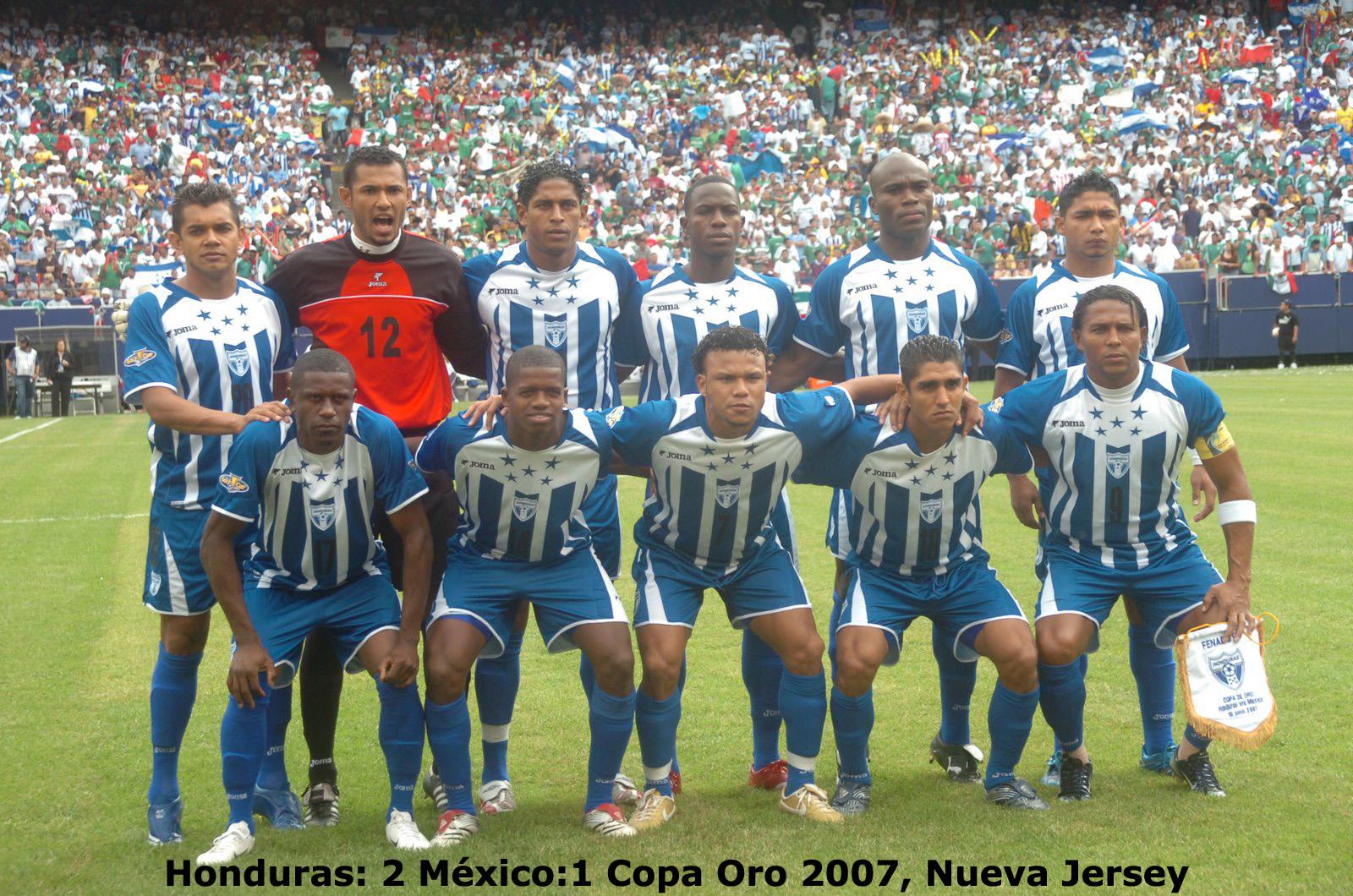 Honduras Mexico Copa Oro 2007