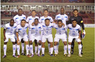 Honduras Copa Uncaf 2011