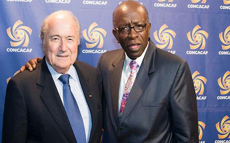Jack Warner y Josep Blatter
