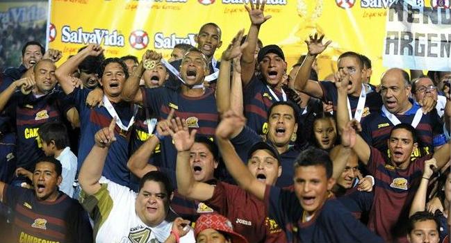 Motagua celebra Campeonato numero 12