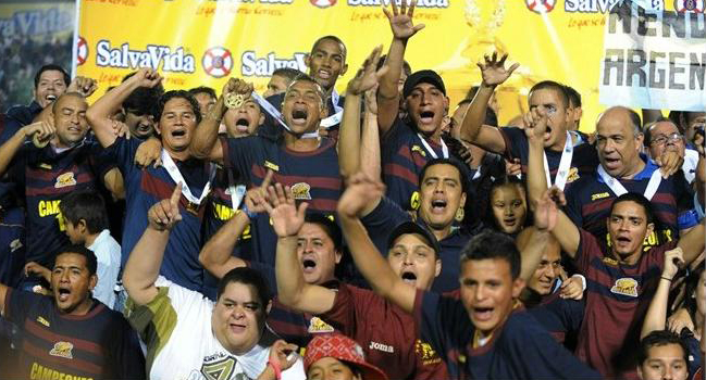 Motagua celebra Campeonato
