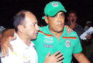 Osman Madrid y Rolando Peña