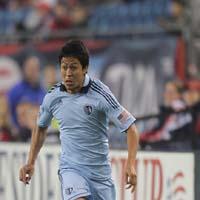 Roger Espinoza del Sporting Kansas City