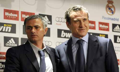Jorge Valdano y Mourinho