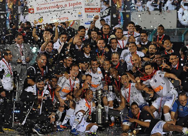 Copa Libertadores Santos Campeon