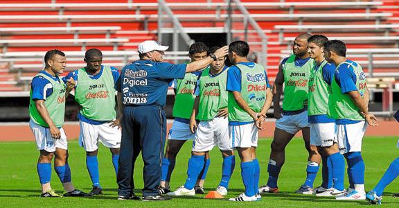 Entreno en Houston Selección Honduras