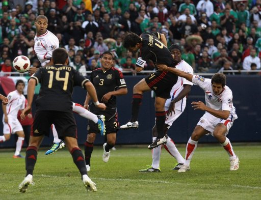 Gol Rafa Marquez contra Costa Rica