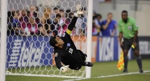 Noel Valladares mejor portero de la Copa Oro 2011