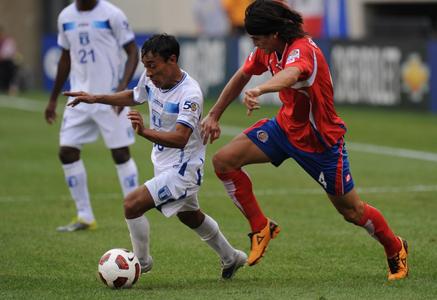 Honduras Costa Rica Copa Oro 2011 Javier Portillo y Bryan Oviedo