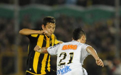 Peñarol Santos ida final Copa Libertadores 2011