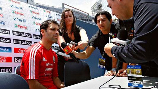 Rafael Marquez Capitán Mexico