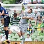 Celtic cayó contra el Inter de Milán