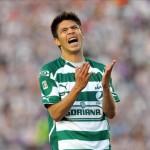 Santos con medio boleto al golear al Olimpia