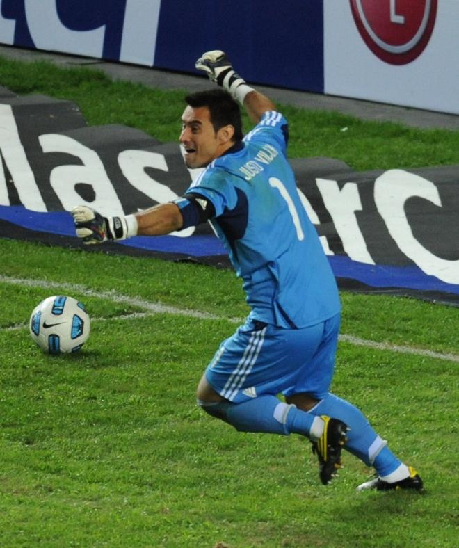 Justo Villar portero Paraguay