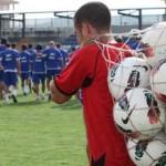 Anthony Lozano entrenó por primera vez con Alcoyano