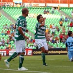 Sufriendo, Santos derrotó al Real España