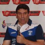 L.F. Suárez «Tocará trabajar con los jugadores locales»