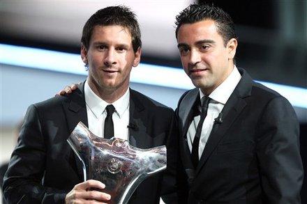 Lionel Messi  Xavi Hernandez