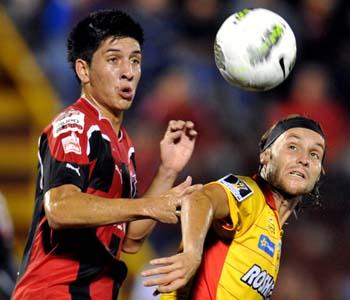 Gerardo Lugo Christopher Meneses Liga