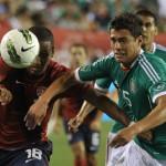 EUA para de sufrir empatando contra México