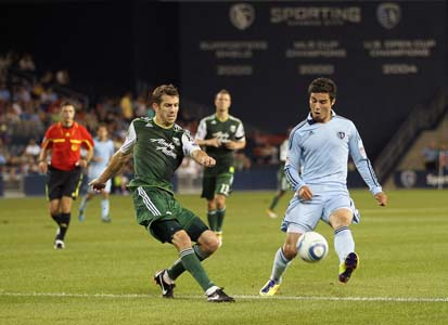 Portland Timbers v Sporting Kansas City