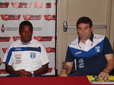 Marvin Chavez Luis F Suarez