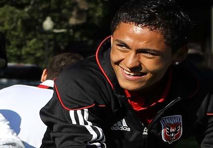 Andy Najar Latino de la Semana Fecha 22