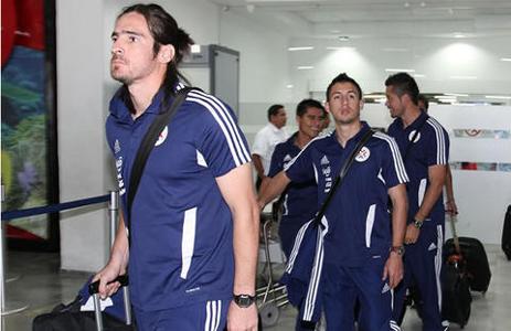 Arribo de Paraguay