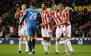 Celebran Stoke City